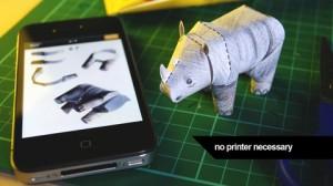 Tiny Paper Zoo app