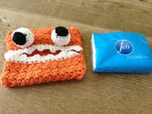 Monster Tissue Cover Free Crochet Pattern