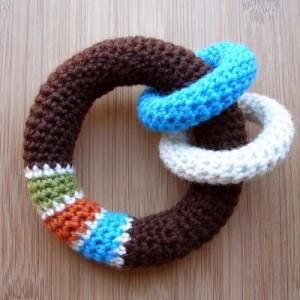 Baby Loop Rattle Crochet Pattern