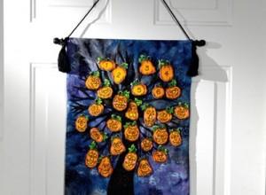 Fabric Halloween Countdown Calendar