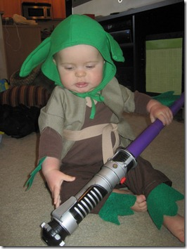 Yoda Toddler Halloween Costume - Walmart.com