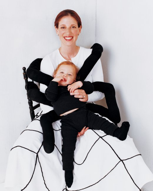 mom and baby spider costume