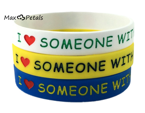I Love Someone With Autism Bracelets (3 Pack)