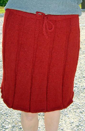 Knitted Skirt Pattern