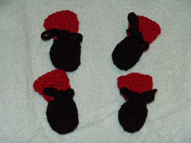 Crochet Dog Booties ? AllCrafts Free Crafts Update