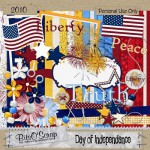 Free Patriotic Digiscrap Kit