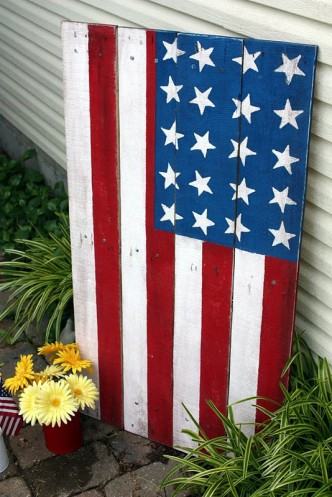 Wooden Flag Banner Tutorial