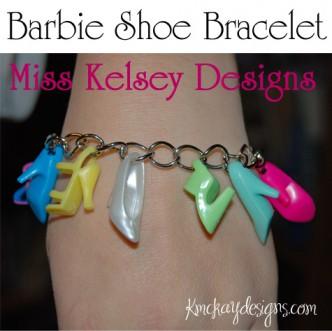 Barbie Shoe Bracelet