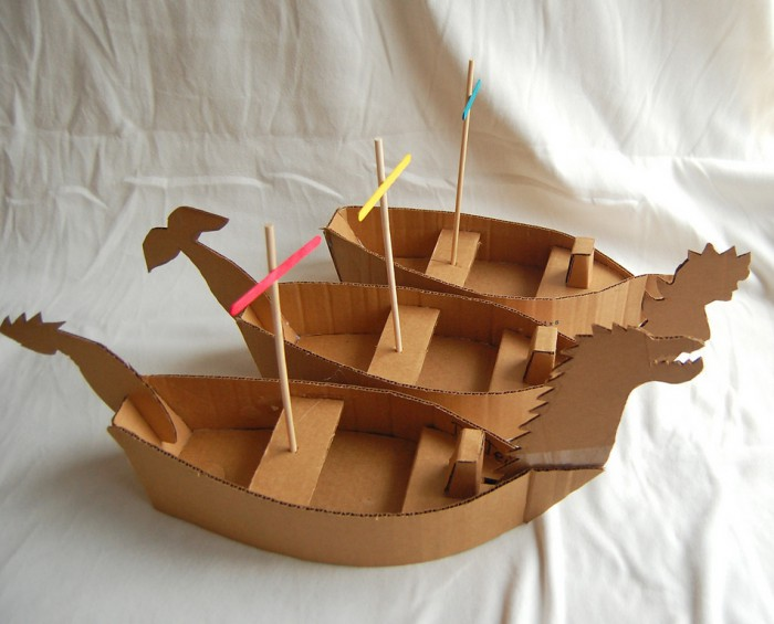 Делаем корабли из дерева своими руками