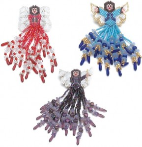 Fringed Fairies and Angels Beading Patterns