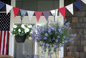 Free Bunting and Pennant Patterns