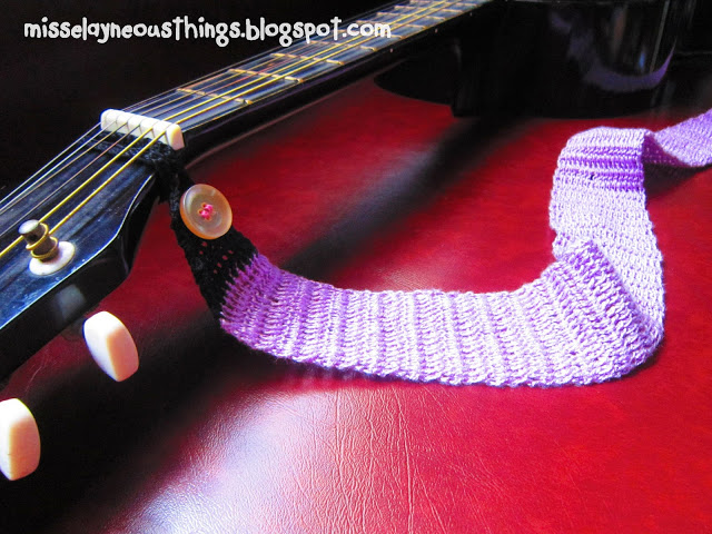 Guitar Strap Crochet Pattern ? AllCrafts Free Crafts Update