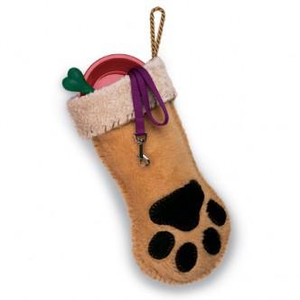 Make a Dog Paw Stocking