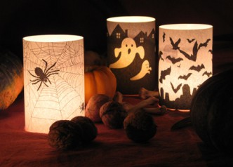 Printable Halloween Candle Wrappers