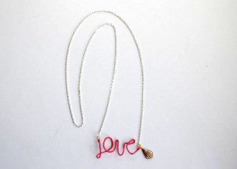 Love Necklace Tutorial