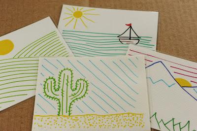 Reusable Postcards Printable