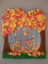 Falling Leaves Kids Craft