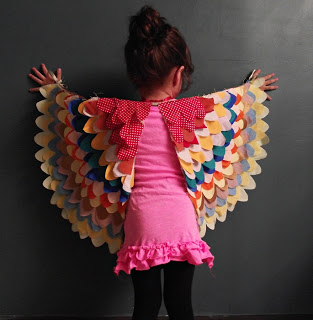 Bird Wings Costume Sewing Tutorial