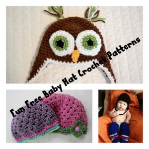 Fun Baby Hat Crochet Patterns