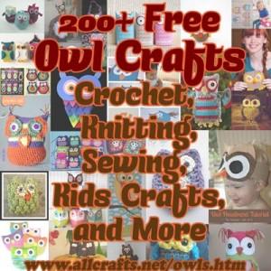 200+ Free Owl Crafts