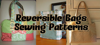 Reversible Purses and Tote Bags Patterns
