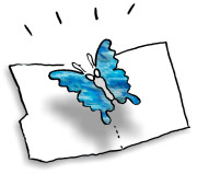 Butterfly Pop-up Card Printable