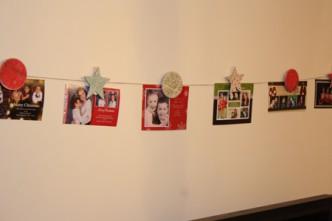 Christmas Card Line Tutorial