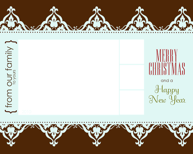 Free printable christmas card templates allcrafts free for Free christmas card templates for photographers