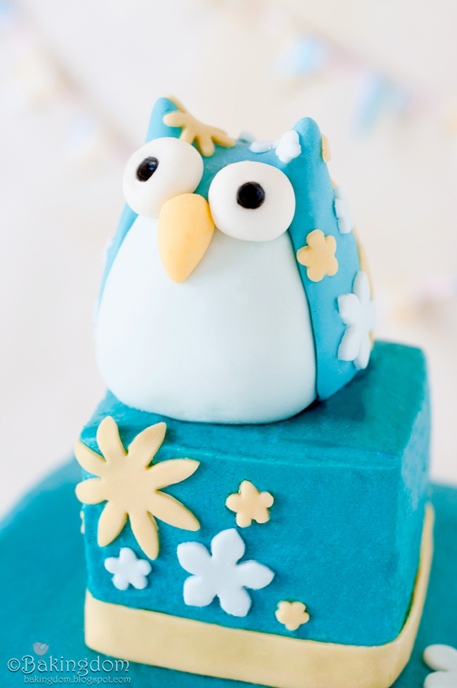 Fat, Happy Owl Fondant Tutorial