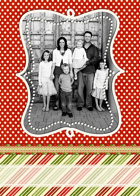 Traditional Xmas Card Templates