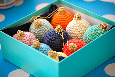 Christmas Balls Crochet Pattern