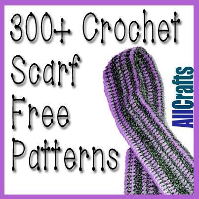 300+ Free Crochet Scarf Patterns