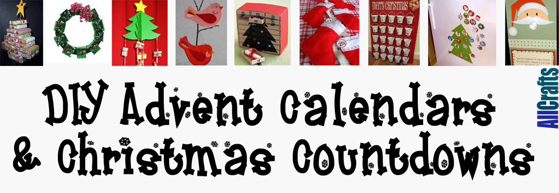 DIY Advent Calendar or Christmas Countdowns