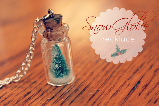 Snow Globe Necklace How-to