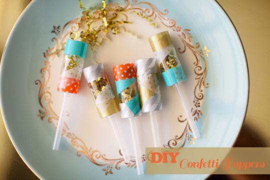 DIY Sequin Confetti Poppers