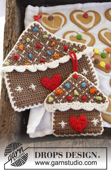 Gingerbread Pot Holder Crochet Ornament
