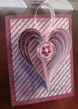 3D Paper Heart Tutorial