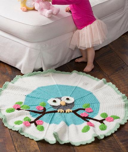 Owl Crochet Blanket Pattern