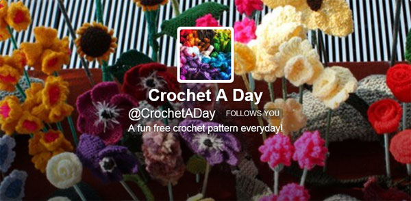 Crochet a Day on Twitter