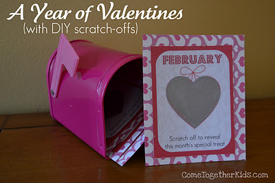 DIY Scratch-offs Valentines