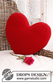 Giant Heart Crochet Pillow Pattern