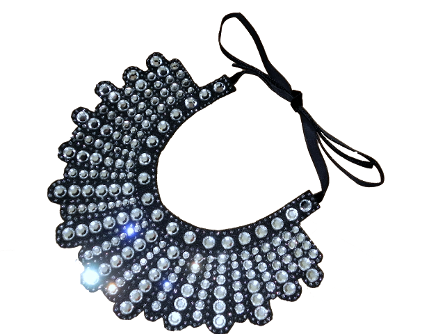 Crystal Bib Necklace Tutorial