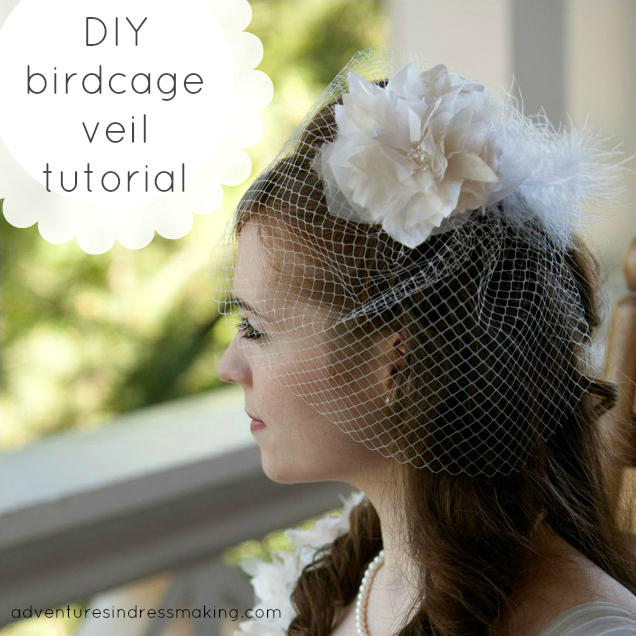 Birdcage Wedding Veil Tutorial