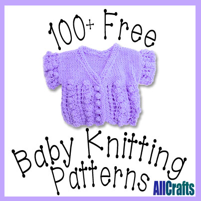 Knitted Baby Patterns Free Online : FREE NEWBORN BABY SWEATER KNITTING PATTERNS   KNITTING PATTERN