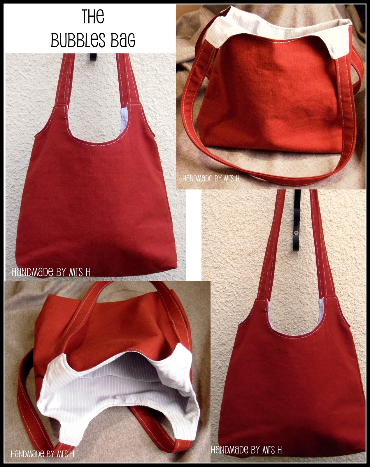 The Bubbles Bag Free Sewing Pattern