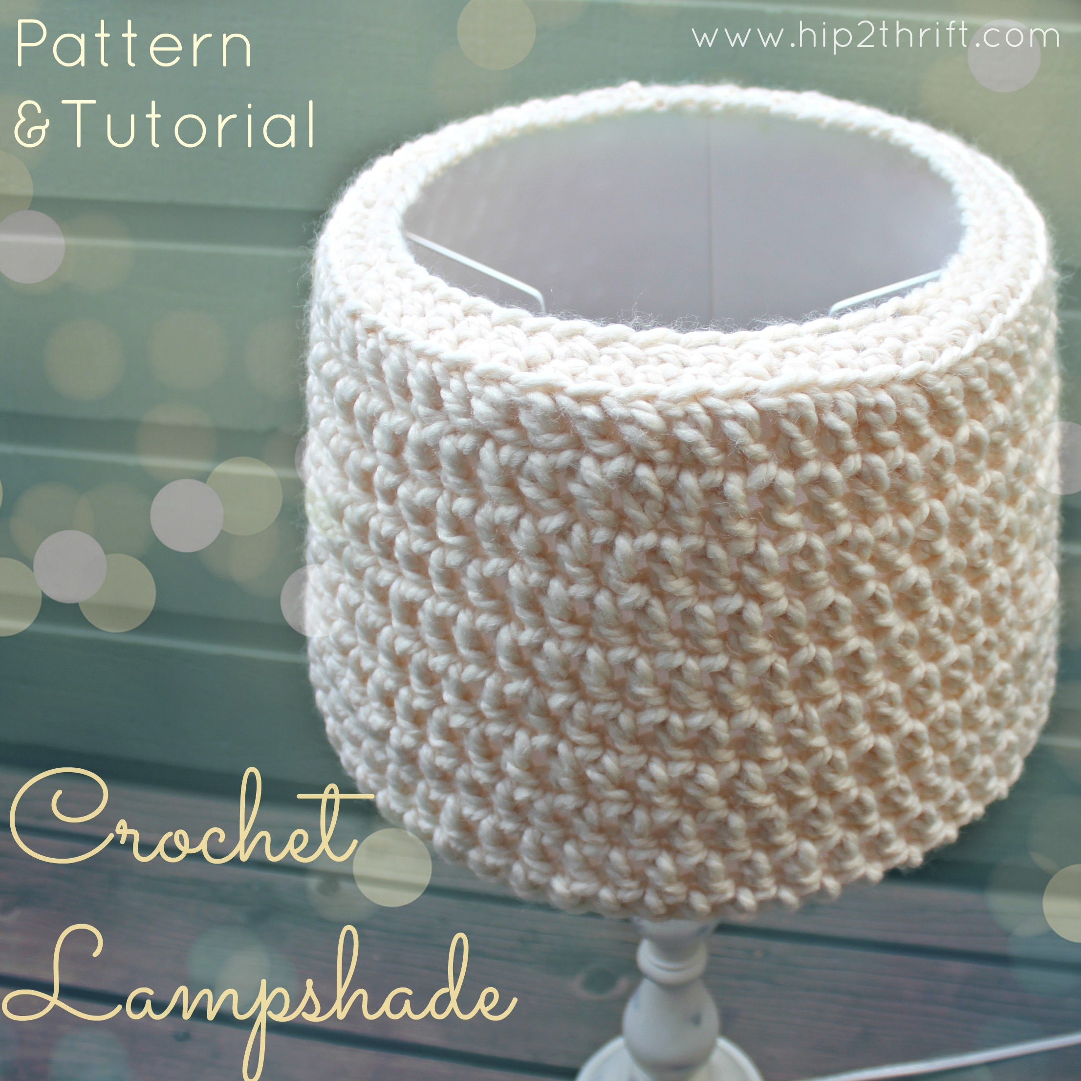 Free Pattern Crochet Lampshade : Crochet Lampshade Pattern ? AllCrafts Free Crafts Update