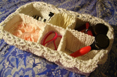 Lace Spa Basket Crochet Pattern