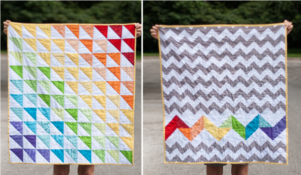 Rainbow Baby Quilt Tutorial Allcrafts Free Crafts Update