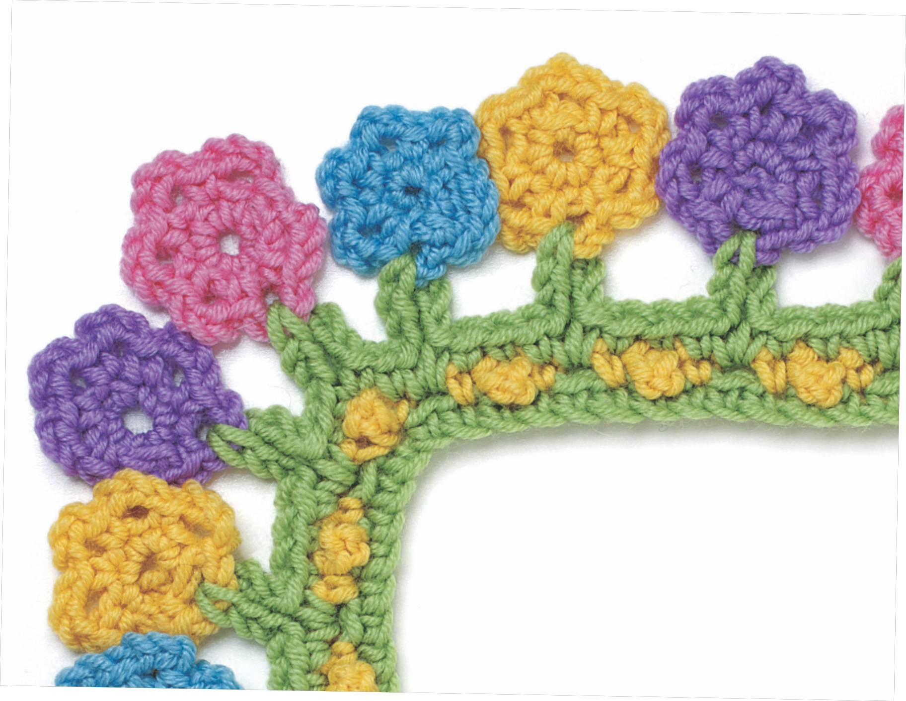 Crocheting Borders : Crochet Borders Book Giveaway - AllCrafts Free Crafts Update