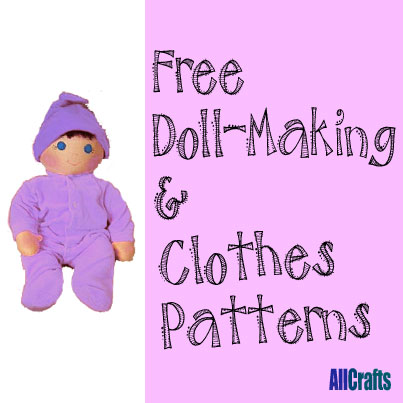 Free Doll-Making and Clothes Patterns